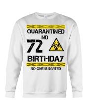 72nd Birthday 72 Years Old Crewneck Sweatshirt thumbnail