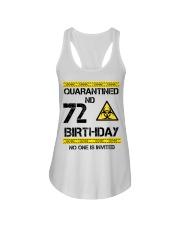 72nd Birthday 72 Years Old Ladies Flowy Tank thumbnail