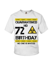 72nd Birthday 72 Years Old Youth T-Shirt thumbnail