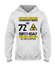 72nd Birthday 72 Years Old Hooded Sweatshirt thumbnail