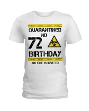 72nd Birthday 72 Years Old Ladies T-Shirt thumbnail