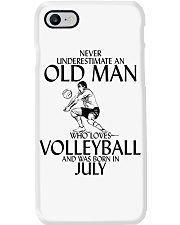 Never Underestimate Old Man Volleyball July Phone Case thumbnail