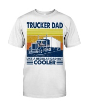 Trucker  Dad Like A Regular Dad But Cooler Classic T-Shirt tile
