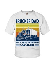 Trucker  Dad Like A Regular Dad But Cooler Youth T-Shirt thumbnail