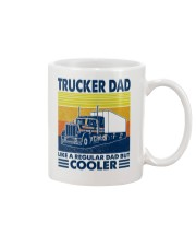 Trucker  Dad Like A Regular Dad But Cooler Mug thumbnail