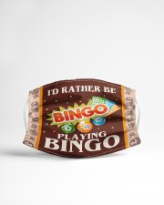 I'd Rather Be Playing Bingo Cloth face mask aos-face-mask-lifestyle-22