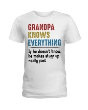 Grandpa Knows Everything Ladies T-Shirt tile
