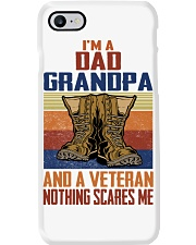 I'm A Dad Grandpa And A Veteran Nothing Scares Me Phone Case thumbnail