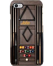 Billiard Pool cue rack case Phone Case i-phone-8-case