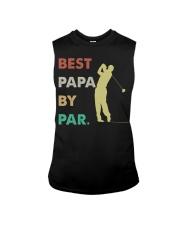 Best Papa By Par Golf Life Sleeveless Tee thumbnail