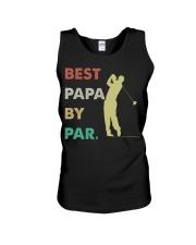 Best Papa By Par Golf Life Unisex Tank thumbnail