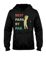 Best Papa By Par Golf Life Hooded Sweatshirt thumbnail