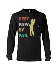 Best Papa By Par Golf Life Long Sleeve Tee thumbnail