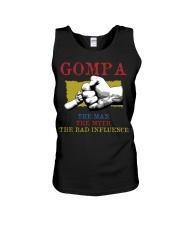 GOMPA The Man The Myth The Bad Influence Unisex Tank tile