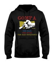 GOMPA The Man The Myth The Bad Influence Hooded Sweatshirt tile