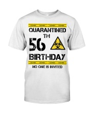 56th Birthday 56 Years Old Classic T-Shirt front