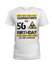 56th Birthday 56 Years Old Ladies T-Shirt thumbnail