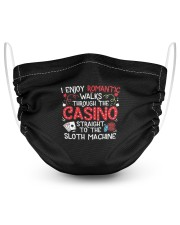 Casino Lover 2 Layer Face Mask - Single front