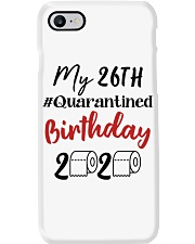 26th Birthday Quarantined 26 Year Old Phone Case thumbnail