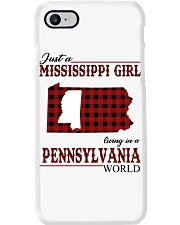 Just A Mississippi Girl In Pennsylvania World Phone Case thumbnail
