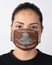 Yoga Namast'ay 6 Feet Away  Cloth face mask aos-face-mask-lifestyle-01