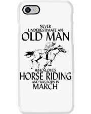 Never Underestimate Old Man Horse Riding March Phone Case thumbnail
