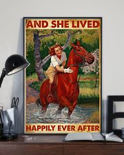 And She Lived Happily Ever After-Horse 24x36 Poster lifestyle-poster-2