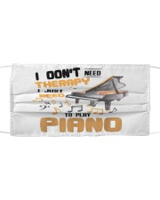 Piano - better than therapy pianist music Mask tile