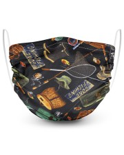 Fishing 2 Layer Face Mask - Single front