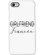 Not a Girlfriend Fiancee now Phone Case thumbnail