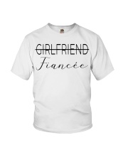 Not a Girlfriend Fiancee now Youth T-Shirt thumbnail
