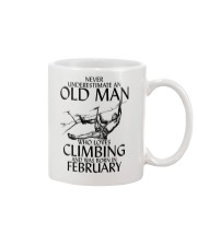 Never Underestimate Old Man Climbing  February Mug thumbnail