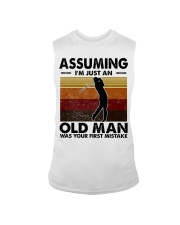 Assuming I'm Just An Old Man Golf Sleeveless Tee tile