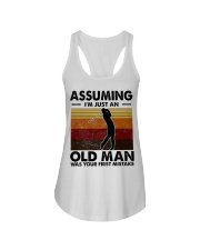 Assuming I'm Just An Old Man Golf Ladies Flowy Tank thumbnail
