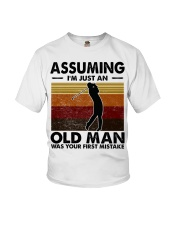 Assuming I'm Just An Old Man Golf Youth T-Shirt thumbnail