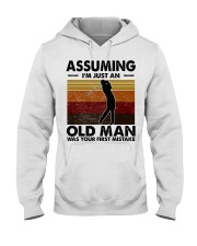 Assuming I'm Just An Old Man Golf Hooded Sweatshirt thumbnail
