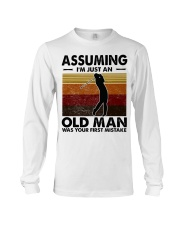 Assuming I'm Just An Old Man Golf Long Sleeve Tee thumbnail