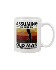 Assuming I'm Just An Old Man Golf Mug tile