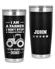 I am A Farmer Personalized Christmas Gift 20oz Tumbler front