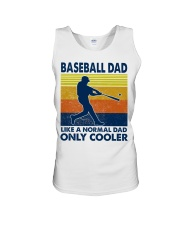 Baseball Dad Like A Normal Dad Only Cooler Unisex Tank thumbnail
