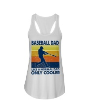 Baseball Dad Like A Normal Dad Only Cooler Ladies Flowy Tank thumbnail