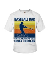 Baseball Dad Like A Normal Dad Only Cooler Youth T-Shirt thumbnail
