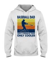 Baseball Dad Like A Normal Dad Only Cooler Hooded Sweatshirt thumbnail