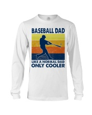 Baseball Dad Like A Normal Dad Only Cooler Long Sleeve Tee thumbnail