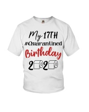 17th Birthday Quarantined 17 Year Old Youth T-Shirt tile