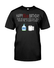 91 th Birthday 91 Year Old Classic T-Shirt front