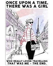 Once Upon A Time Girl Loves Shopping 24x36 Poster front