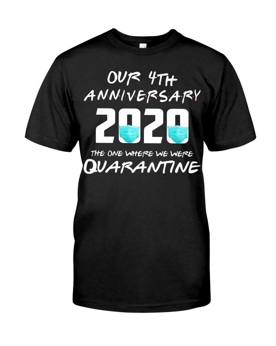 4th Anniversary 4 Quarantine Classic T-Shirt