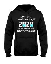 4th Anniversary 4 Quarantine Hooded Sweatshirt thumbnail