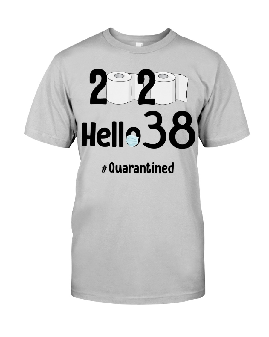 38th Birthday 38 Years Old Classic T-Shirt